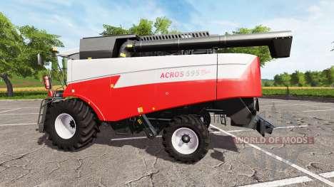 Ростсельмаш Акрос 595 Плюс для Farming Simulator 2017