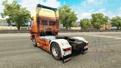 Скин Free Spirit на тягач Scania для Euro Truck Simulator 2