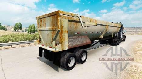 Самосвальный полуприцеп со ржавчиной для American Truck Simulator