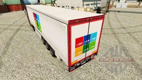 Скин BASF SE на полуприцепы для Euro Truck Simulator 2