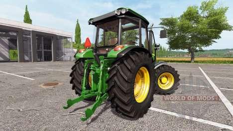 John Deere 5085M для Farming Simulator 2017