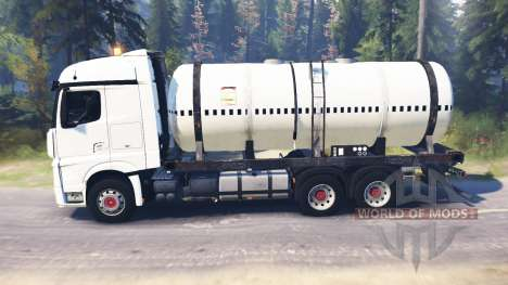 Mercedes-Benz Actros MP4 для Spin Tires