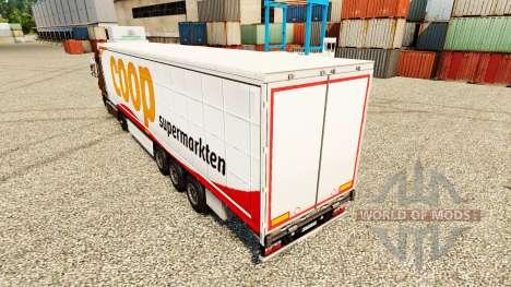 Скин Coop на полуприцепы для Euro Truck Simulator 2