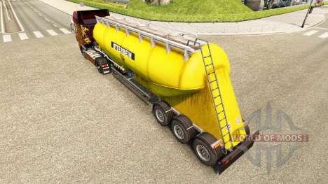 Скин Otterbein на цементный полуприцеп для Euro Truck Simulator 2