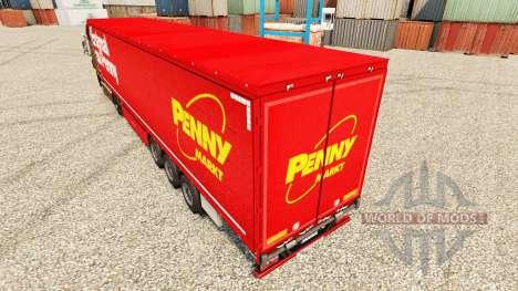 Скин Penny Markt на полуприцепы для Euro Truck Simulator 2
