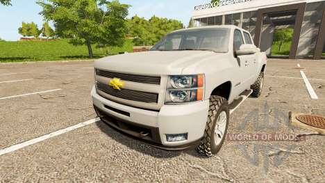 Chevrolet Silverado LT Z71 для Farming Simulator 2017