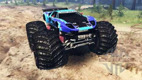 Ford GT [monster truck] для Spin Tires
