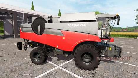 Ростсельмаш Торум 760 красный для Farming Simulator 2017