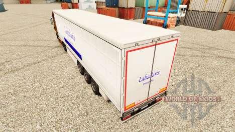 Скин Labadaris Transports на полуприцепы для Euro Truck Simulator 2