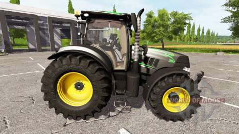 Case IH Puma 200 CVX black panther v1.3 для Farming Simulator 2017