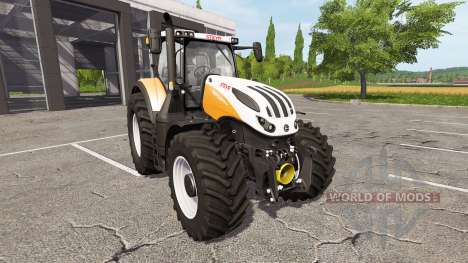 Steyr Terrus 6270 CVT v1.0.0.1 для Farming Simulator 2017