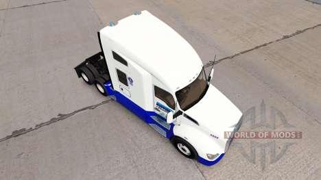Скин BMP Haulage Transport на тягач Kenworth для American Truck Simulator