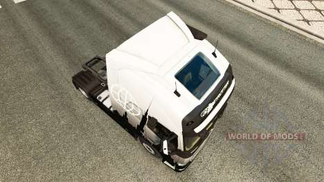 Скин Euro Express на тягач Volvo для Euro Truck Simulator 2
