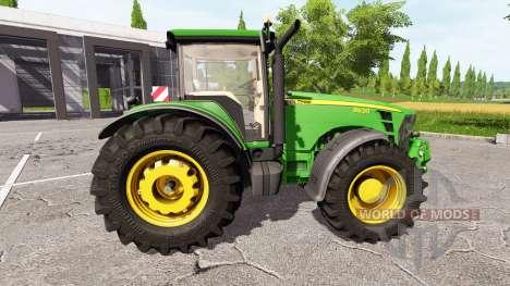 John Deere 8530 v1.1 для Farming Simulator 2017