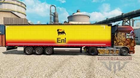 Скин Eni на полуприцепы для Euro Truck Simulator 2
