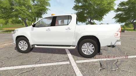 Toyota Hilux convoi agricole для Farming Simulator 2017