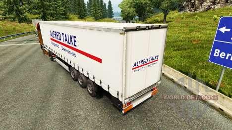 Скин Alfred Talke на полуприцепы для Euro Truck Simulator 2