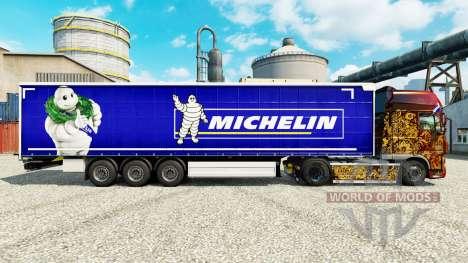 Скин Michelin на полуприцепы для Euro Truck Simulator 2