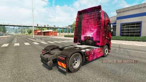 Скин Weltall на тягач Volvo для Euro Truck Simulator 2