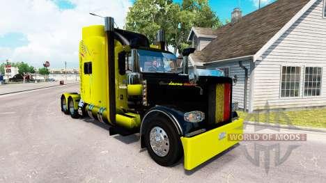 Скин Vanderoel на тягач Peterbilt 389 для American Truck Simulator
