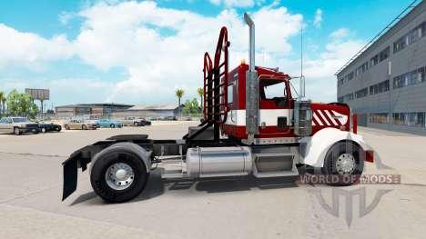 Kenworth W900 Day Cab Heavy Duty для American Truck Simulator