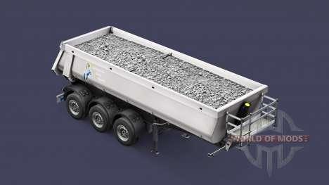 Полуприцеп-самосвал Schmitz TMC для Euro Truck Simulator 2