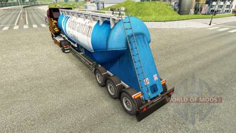 Скин Votorantim на цементный полуприцеп для Euro Truck Simulator 2
