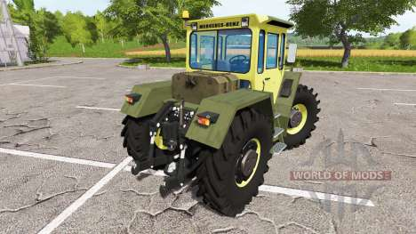 Mercedes-Benz Trac 1800 Intercooler для Farming Simulator 2017