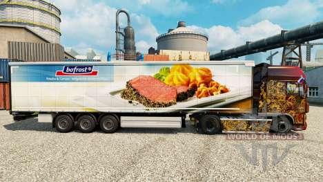Скин Bofrost на полуприцепы для Euro Truck Simulator 2