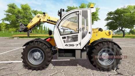 Liebherr TL 436-7 для Farming Simulator 2017