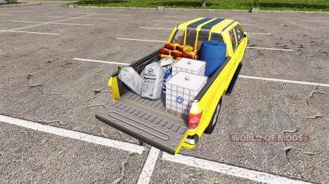 Lizard Pickup TT Service v1.2 для Farming Simulator 2017