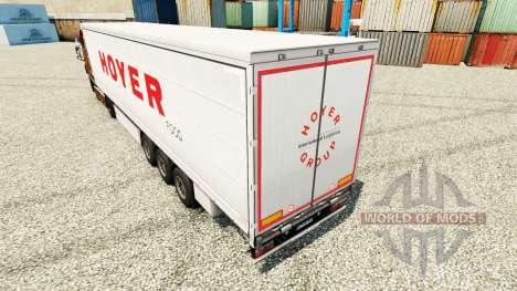 Скин Hoyer на полуприцепы для Euro Truck Simulator 2