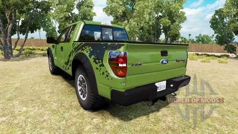 Ford F-150 SVT Raptor v1.6 для American Truck Simulator