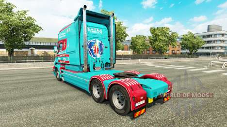 Скин Yates & Sons на тягач Scania T для Euro Truck Simulator 2