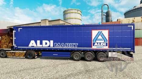 Скин Aldi Markt на полуприцепы для Euro Truck Simulator 2