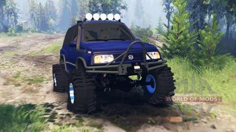 Suzuki Grand Vitara v4.0 для Spin Tires
