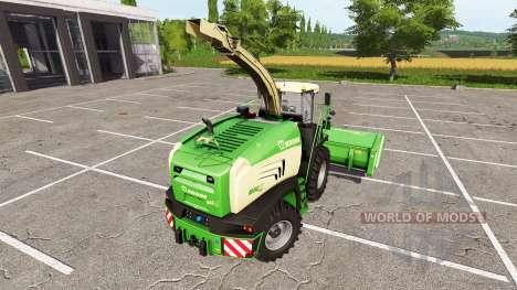 Krone BiG X 480 для Farming Simulator 2017