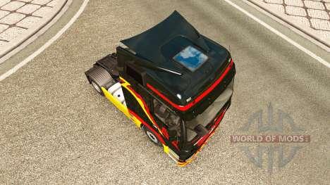 Скин Pirelli на тягач Mercedes-Benz для Euro Truck Simulator 2