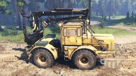 Кировец К-700 v2.1 для Spin Tires