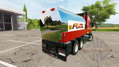 Scania T164 fuel для Farming Simulator 2017