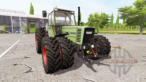 Fendt Farmer 312 LSA Turbomatik v1.0.0.3 для Farming Simulator 2017