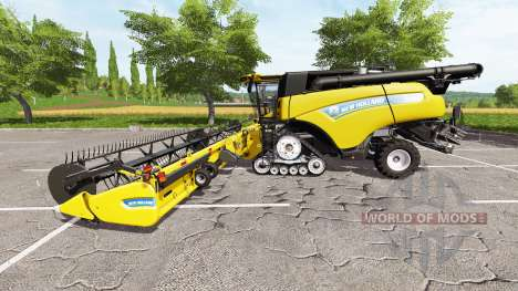 New Holland CR10.90 multicolor v2.0 для Farming Simulator 2017