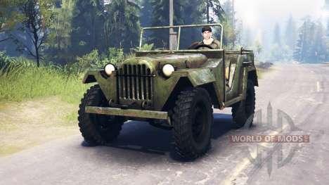 ГАЗ-67 1943 для Spin Tires