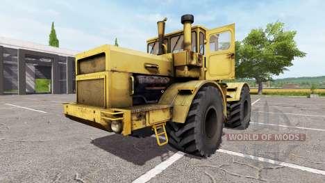 Кировец К-700А v1.1 для Farming Simulator 2017