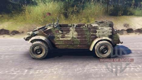 Volkswagen Typ 82 (Kubelwagen) для Spin Tires