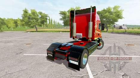 Scania T164 two-axle для Farming Simulator 2017