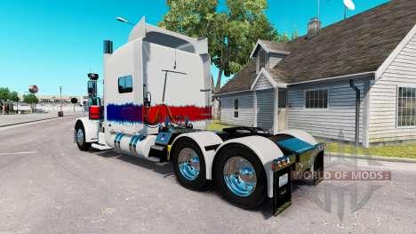 Скин The Pearl на тягач Peterbilt 389 для American Truck Simulator