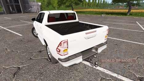 Toyota Hilux Double Cab для Farming Simulator 2017