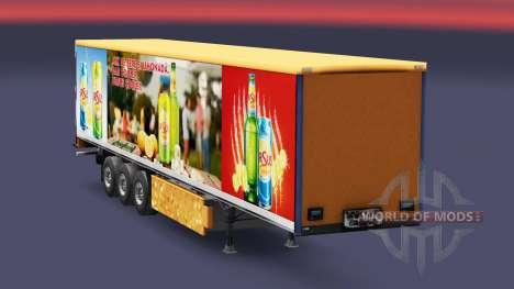 Скин Ursus Cooler на полуприцепы для Euro Truck Simulator 2