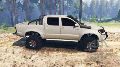Toyota Hilux 2013 для Spin Tires